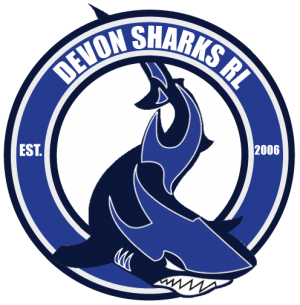 devon sharks rl logo